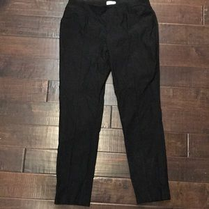 Chico's slimming blank pant size 1 (10-12) reg